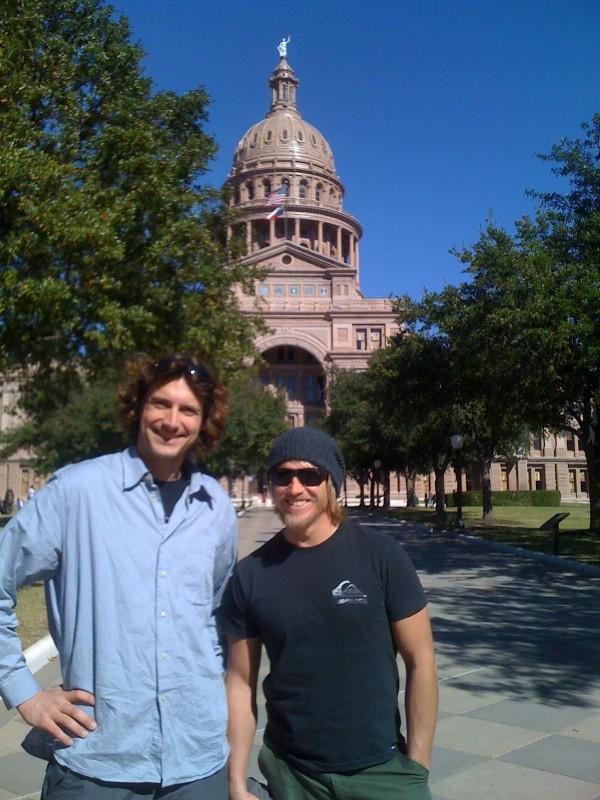 Elmar and Mario: authentic Texas Germans