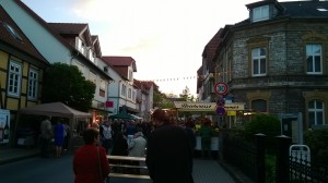 summer street festivals in historic city centers