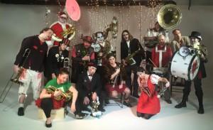 Dead Music Capital Band Gruppenfoto für die Krampusnacht